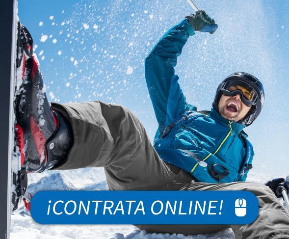 seguro de asistencia en viaje para esquiar