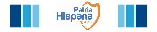 logotipo patria hispana Ableseguros Correduría de Seguros